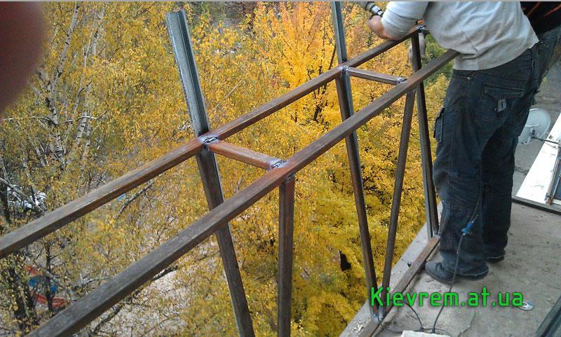 Vikonce - вынос балконов и окна рехау - галерея - категория:.